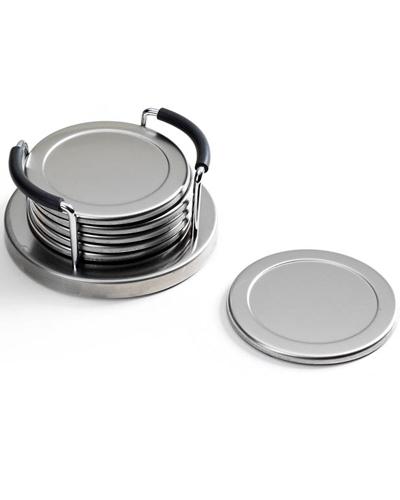 Brindes Personalizados -  Porta Copos de Inox Personalizado