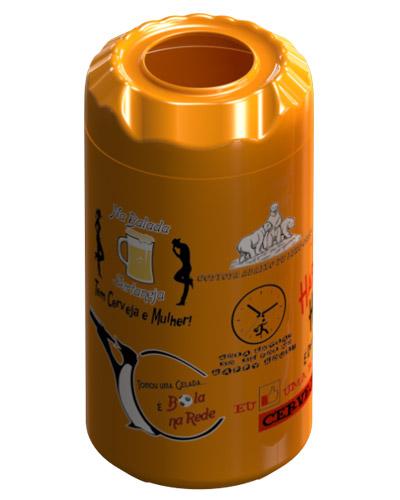 Porta Garrafa Personalizado - Porta garrafa de cerveja Personalizado