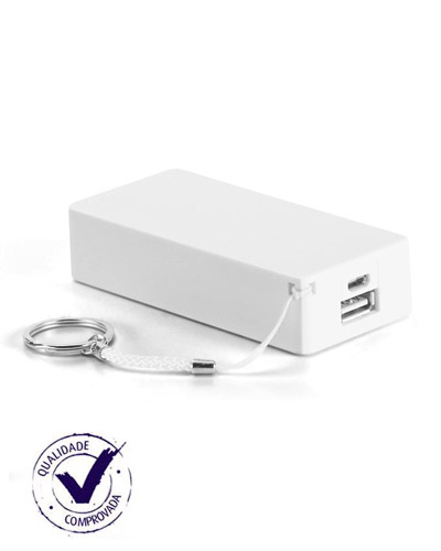 Carregador Portátil Personalizado - Power Bank para Brinde Promocional