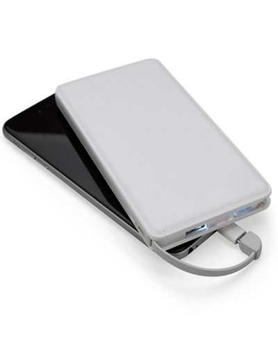 Carregador Portátil Personalizado - Power Bank Slim Personalizado