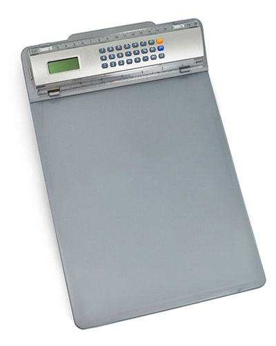 Prancheta - Prancheta com Calculadora Personalizada