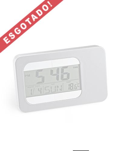 Brindes Personalizados -  Relógio de Mesa com Alarme para Brindes