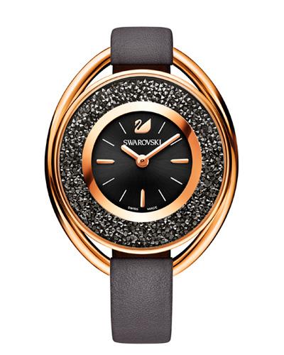 Cristais Swarovski - Relógio Swarovski Crystalline Black