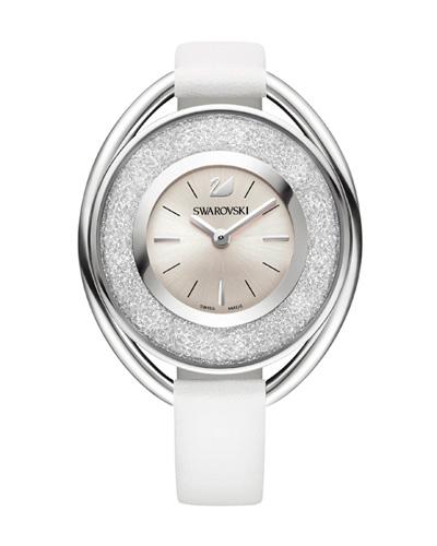 Cristais Swarovski - Relógio Swarovski Crystalline White