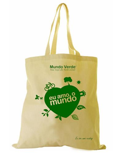 Ecobag Personalizada - Sacola Ecológica Personalizada