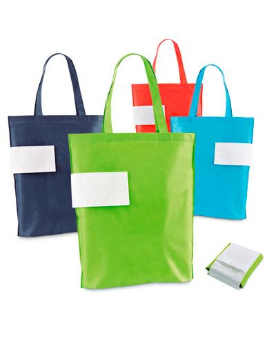 Ecobag Personalizada - Sacolas de TNT Dobrável Personalizada
