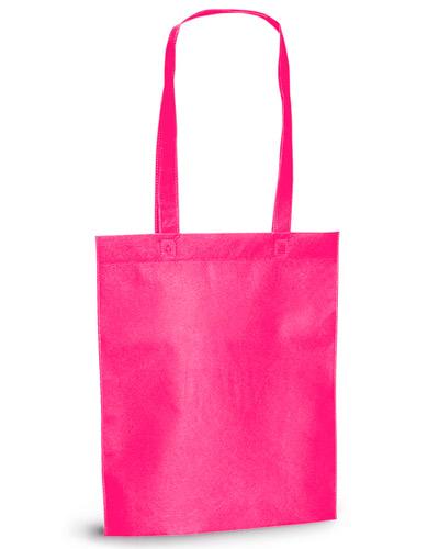 Brindes Outubro Rosa - Sacolas de TNT Rosa Personalizadas