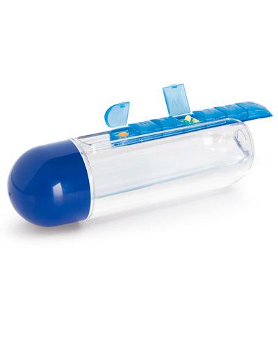 Garrafa Squeeze - Squeeze com Porta Comprimidos Personalizado