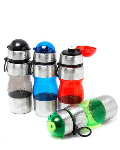 Squeeze Inox - Squeeze de Metal para Brinde Promocional