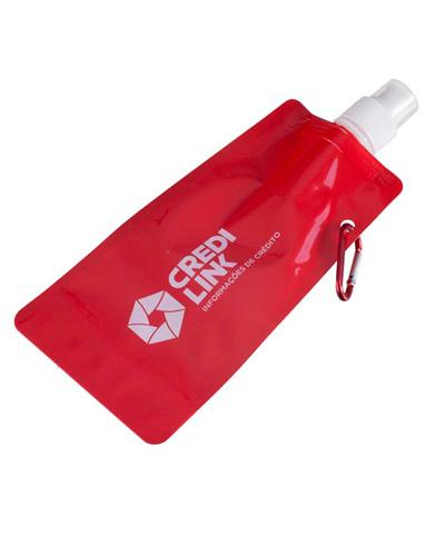 Squeeze Dobrável - Squeeze de Plástico Flexível Personalizado