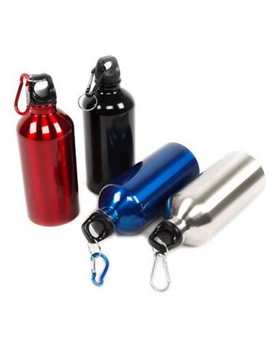 Squeeze Alumínio - Squeeze Personalizada com Mosquetão
