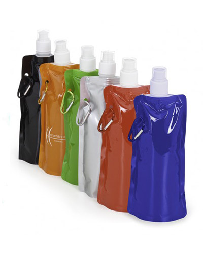Squeeze Plástico Dobrável Personalizado