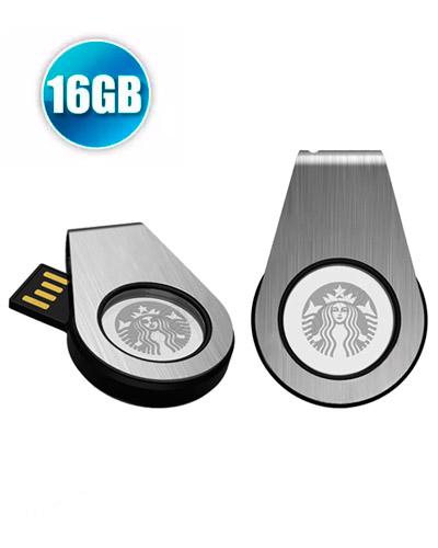88a125dc2 Pen Drive 16GB Personalizado Giratório