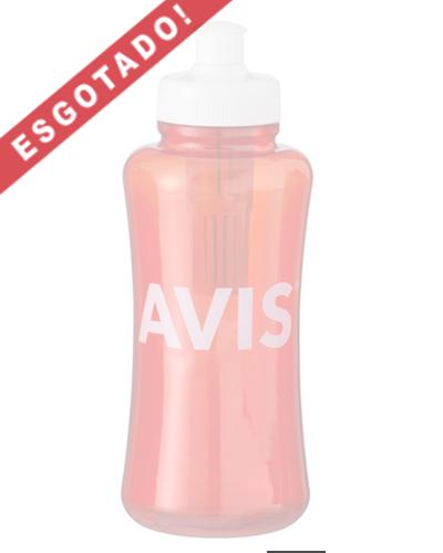Squeeze Plástico com Filtro Personalizado